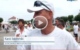 Karol Jabłoński - Sopot Match Race 2013